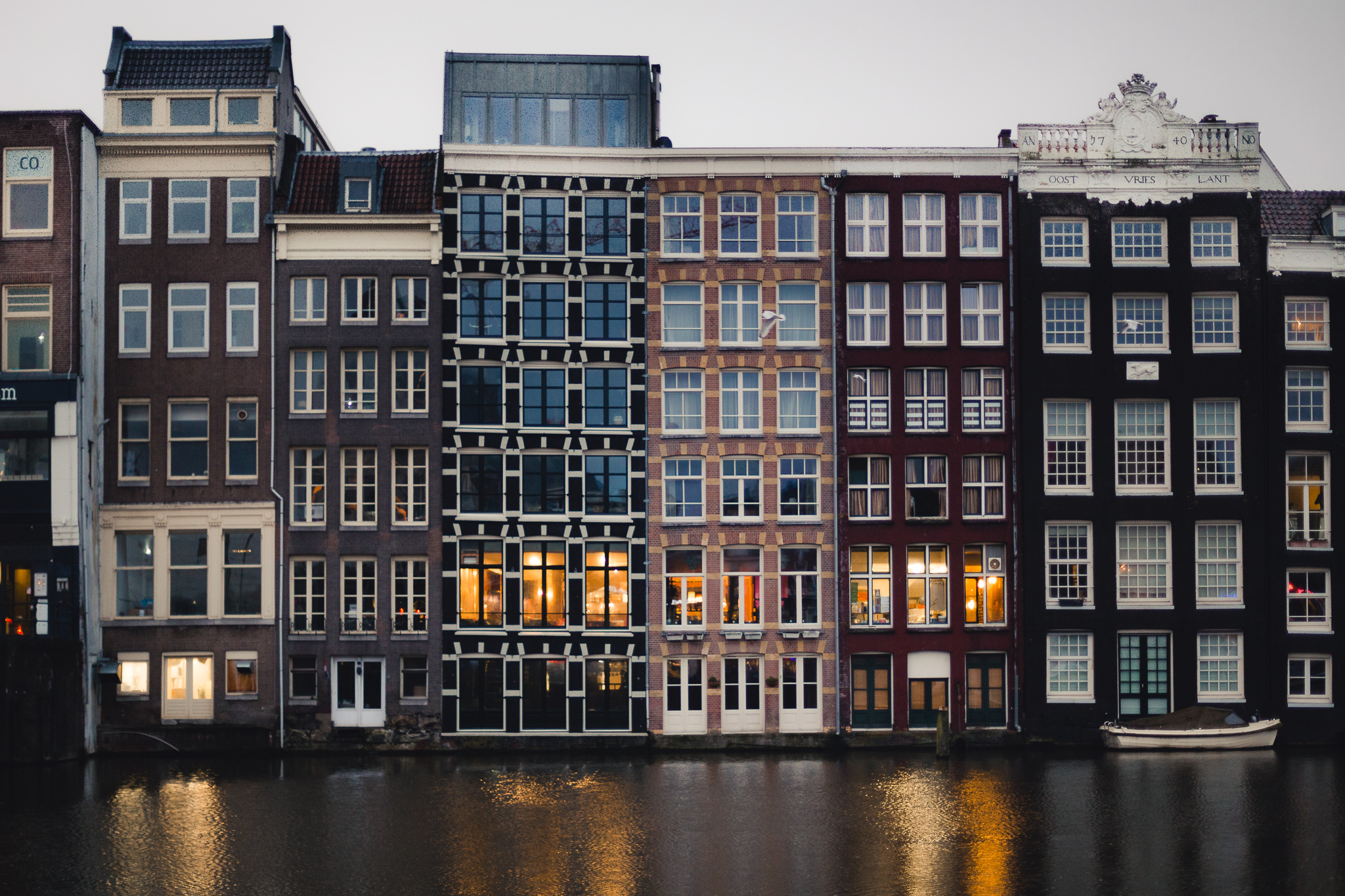 Zastávka v Amsterdamu