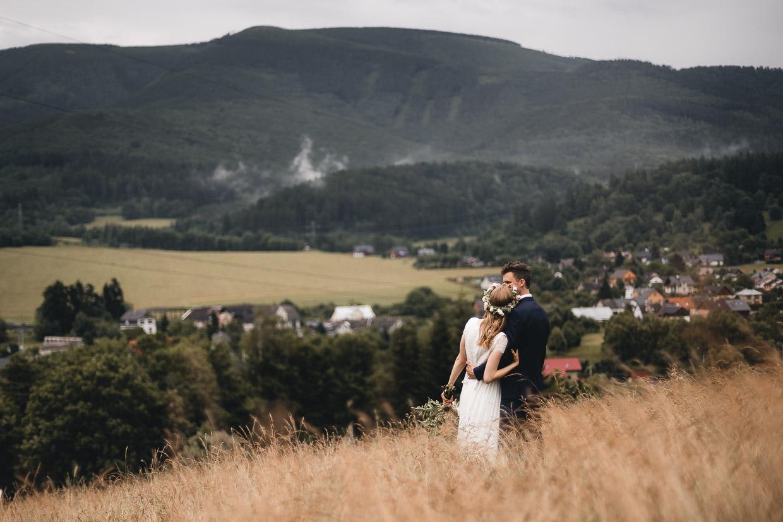 Svatba Natky a Luboše v Loučné nad Desnou
